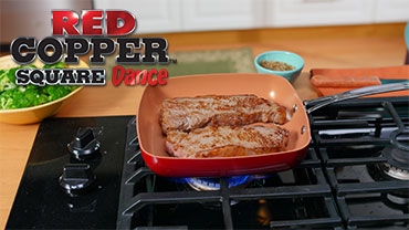 Red Copper Square Dance Pan™Video
